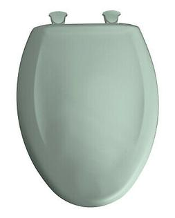 Plastic Elongated Toilet Seat - Finish: Seafoam