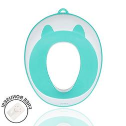 Plastic Potty Training Seat Cover,Toddler Toilet Seat Adapte