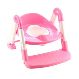ZXYWW Portable 3-In-1 Kid Potty Training Seat Plastic Baby T