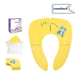 Travel Potty Seat Cover Folding Potty Seat Portable Toddler