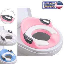 Potty Trainer Toilet Chair Seat For Kids Boys Girls & Toddle