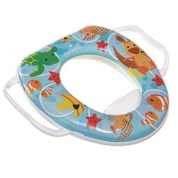 Kids Potty Training Toilet Seat Padded Soft Ring Baby Toddle