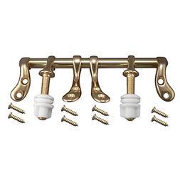 Plumb Pak Pp837-36L Toilet Seat Hinge, Polished Brass