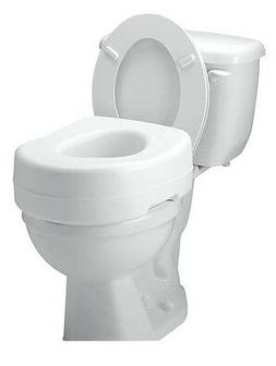 Carex Toilet Seat Riser - Adds 5 Inches of Height to Toilet