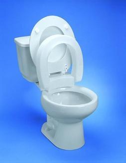 Maddak Inc.  Raised Toilet Seat Standard Hinged