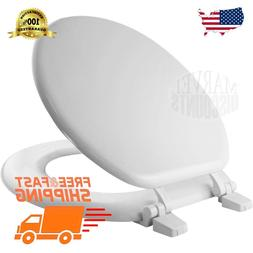round closed front toilet seat bathroom molded