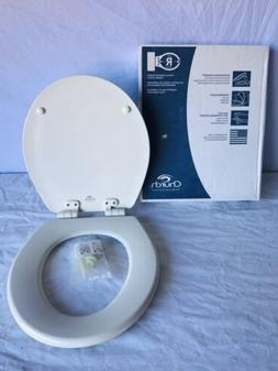 church round molded wood toilet seat 16.5inch 42cm j1321