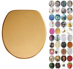 Round Toilet Seat, Wide Choice of Slow Close Seats, Molded W
