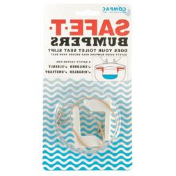 Compac's Toilet Seat Stabilizers Safe T Bumpers, Lock Seat