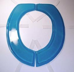 Semi Liquid Polymer Gel Toilet Seat Cushion- Round or Elonga