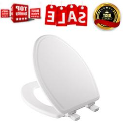 Slow-Close Molded Wood Toilet Seat STA-TITE Seat Fastening S