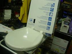 BEMIS Slow Soft Close Lift Off Round Closed Front Toilet Sea