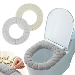 Soft Bathroom Toilet Seat Cover Pad Cushion Closestool Warme