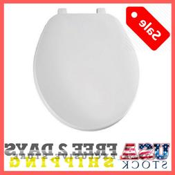 Soft Padded Toilet Seat Oval Round White Color Top Quality M