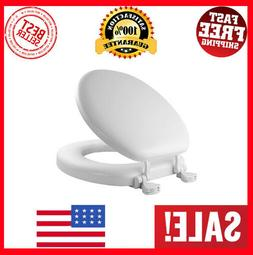 MAYFAIR Soft Toilet Seat Easily Remove, ROUND, Padded with W