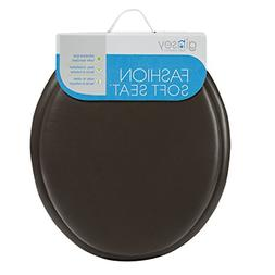 Home Toilet Seat Soft Padded Cushioned Standard Round Bowl C