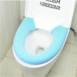 Soft Warm Toilet Seat Cover Round Elongated Padded Cushioned