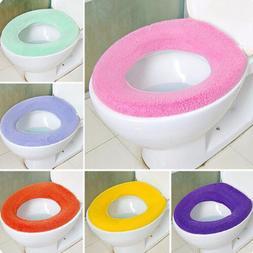 Soft Washable Toilet Seat Pad Lid Top Cover Closestool Bathr