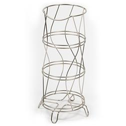 HomeCrate Sturdy Wire Construction Three Roll Reserve Toilet