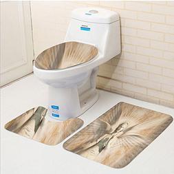 Keshia Dwete three-piece toilet seat pad customSculptures St