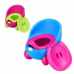 Toddlers Potty Training Toilet Chair Splash Guard Detachable