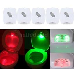 Toilet Lamp Night Light LED Motion Activated Sensor Bathroom