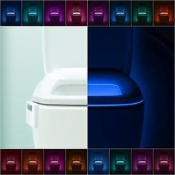 Toilet Light Detection Sensor Infrared Motion LED Illuminate