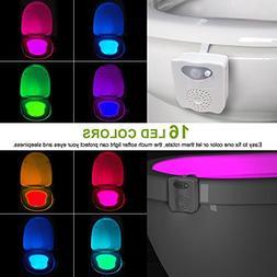 Toilet Night Light - Motion Activated - UV Sterilizer - 16 C
