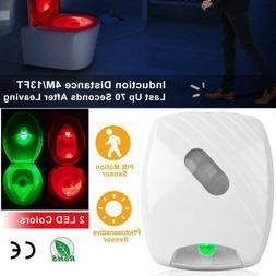 Toilet Night Light LED Mo-tion Activated Sensor Lamp Bathroo