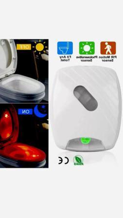 Toilet Night Light LED Motion Activated Sensor Lamp Bathroom
