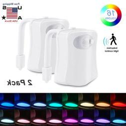 Toilet Night Light Motion Activated Multi-Color LED Sensor B