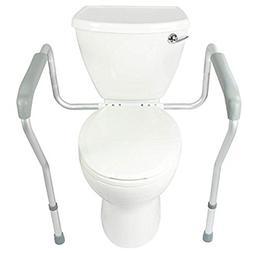 toilet safety frame adjustable legs