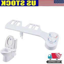 Toilet Seat Attachment Bathroom Water Spray Non-Electric Mec