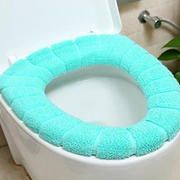 Myhouse Toilet Seat Cover Bathroom Toilet Seat Pads Soft Was