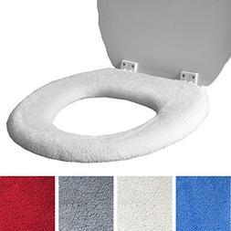 Medipaq Toilet Seat Cover - Super Warm Fleece - Retaining Ri