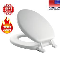 Toilet Seat Economy Wood Easy To Install Fits All Round Toil