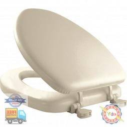 Mayfair Toilet Seat Elongated, Soft Seat Bone