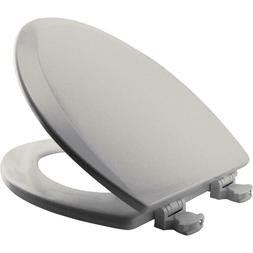 CHURCH Toilet Seat Ice Grey 585EC 062 Easy Clean ELONGATED,