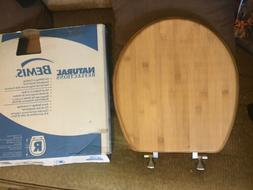 BEMIS Toilet Seat Reflections Round Standard  Bamboo Light O