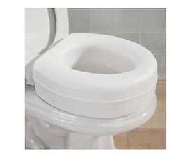 Toilet Seat Riser, Extra 4 Inch On Toilet Seat, Provides Ext