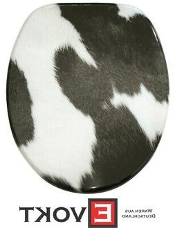Sanilo Toilet Seat WC Cow Pattern Design Genuine Antibacteri
