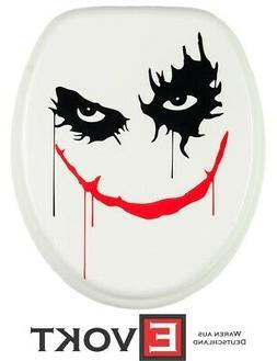 Sanilo Toilet Seat WC Joker Batman Design Genuine Antibacter