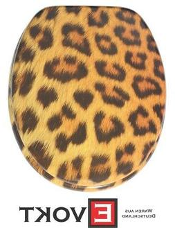 Sanilo Toilet Seat WC Leopard Jungle Design Genuine Antibact