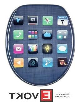 Sanilo Toilet Seat WC Mobile Apps Icon Design Genuine Antiba