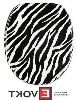 Sanilo Toilet Seat WC Zebra Black White  Design Genuine Anti