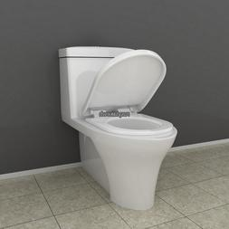 Toilet Seat with Cover U/V/O Shape Soft Close Quick Release