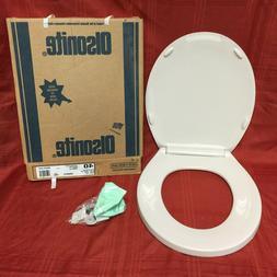 TS-54 NOS Olsonite Toilet Seat Ld Innocent Blush 40 Regular