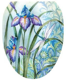 Toilet Tattoos TT-1014-O Iris Beauty Decorative Applique for