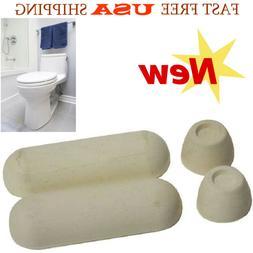 Universal Rubber Toilet Seat Bumper Toilet Replacement Kit w