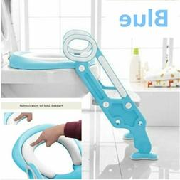 US Kid Potty Training Seat with Step Stool Ladder for Child